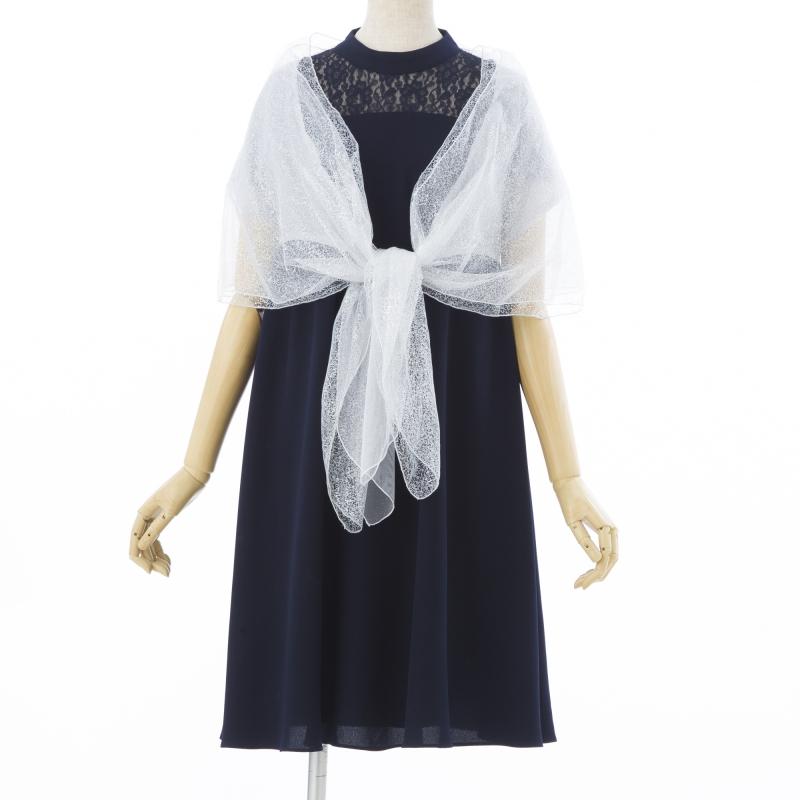 b59e839392e38 Je super ジュシュペール プチハイネックレースドレス ネイビー M|結婚 ...