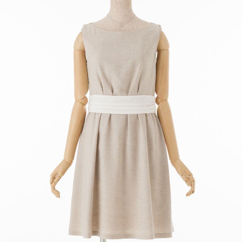 ドレス ノースリーブ 羽織