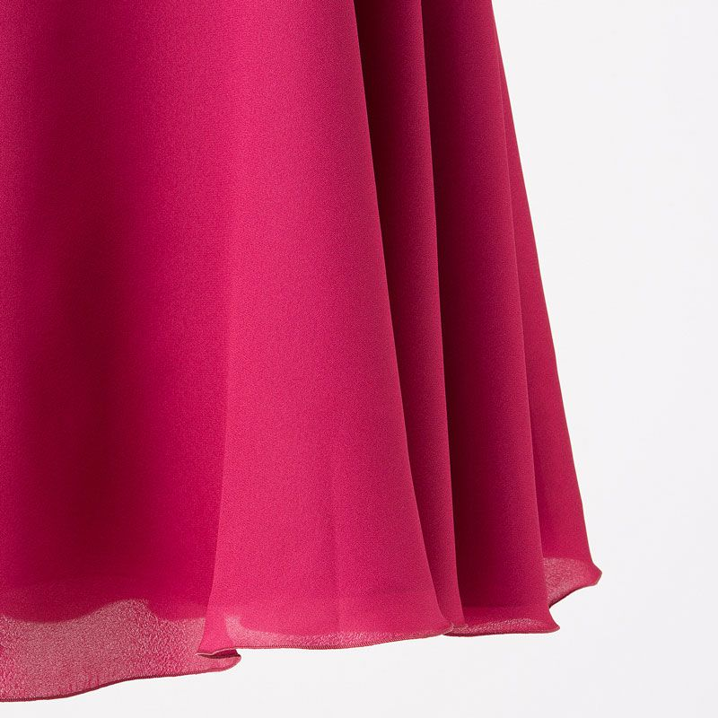 81a531a296849 STRAWBERRY-FIELDS ストロベリーフィールズ ショルダーフリルパーティドレス ピンク M