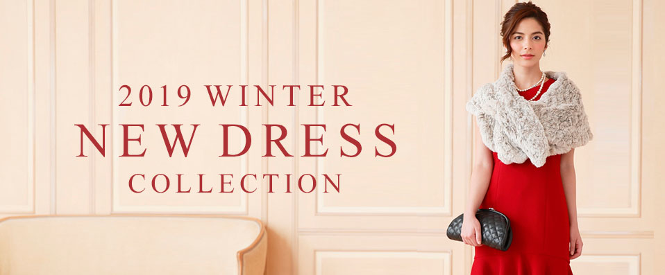 2019 WINTER NEW DRESS COLLECTION